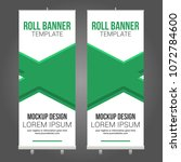 roll stand banner abstract... | Shutterstock .eps vector #1072784600