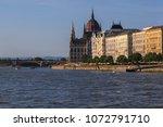 walk in budapest. main... | Shutterstock . vector #1072791710
