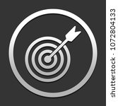 target icon. icon in circle on...