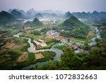 Rolling hills of Yangshuo, China