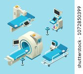 vector isometric medical... | Shutterstock .eps vector #1072850399