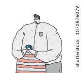 hand drawn vector illustration...   Shutterstock .eps vector #1072876079