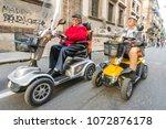 palermo  italy  october 31 ... | Shutterstock . vector #1072876178