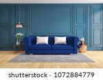 modern and classic living room... | Shutterstock . vector #1072884779