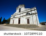 church in rovinj  croatia | Shutterstock . vector #1072899110