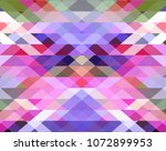 triangle geometric background.... | Shutterstock .eps vector #1072899953