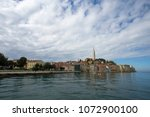 rovinj  croatia   april 15 ... | Shutterstock . vector #1072900100