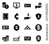flat vector icon set  ... | Shutterstock .eps vector #1072902053
