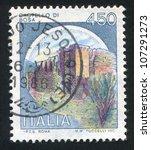 italy   circa 1980  a stamp... | Shutterstock . vector #107291273