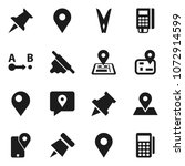 flat vector icon set  ... | Shutterstock .eps vector #1072914599