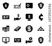 flat vector icon set   gold... | Shutterstock .eps vector #1072921556