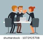 vector business illustration   Shutterstock .eps vector #1072925708