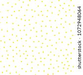 ditsy vector polka dot pattern...   Shutterstock .eps vector #1072948064