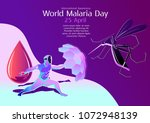 world malaria day  healthcare ...