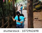 thai family and thailand tourism | Shutterstock . vector #1072962698