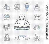 spotless series   hand drawn... | Shutterstock .eps vector #107296664