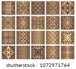 vector tiles patterns. seamless ...   Shutterstock .eps vector #1072971764
