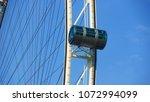 ferris wheel in singapore   Shutterstock . vector #1072994099