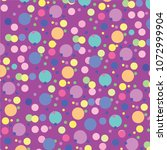 pink bubble splash pattern...