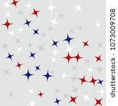 colorful stars confetti ...   Shutterstock .eps vector #1073009708