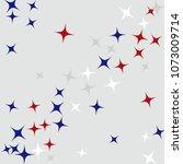 colorful stars confetti ...   Shutterstock .eps vector #1073009714