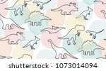 gentle pastel colored pattern...   Shutterstock .eps vector #1073014094