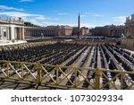 vatican  italy   september 6 ... | Shutterstock . vector #1073029334