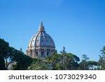 vatican  italy   september 6 ... | Shutterstock . vector #1073029340