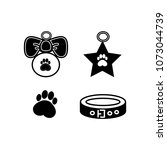 dog badges for your site  a... | Shutterstock .eps vector #1073044739