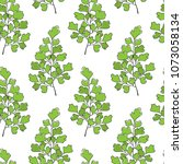 vector seamless pattern with... | Shutterstock .eps vector #1073058134