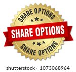 share options round isolated... | Shutterstock .eps vector #1073068964