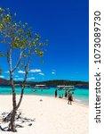 coron palawan philippines april ...   Shutterstock . vector #1073089730