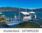 coron palawan philippines april ...   Shutterstock . vector #1073092220