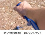 forearm crutches as an aid to... | Shutterstock . vector #1073097974