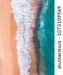 Aerial Looking Down Beach - Fine Art prints