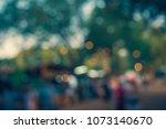 vintage tone  blurred... | Shutterstock . vector #1073140670