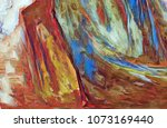 abstract painting texture... | Shutterstock . vector #1073169440