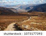 cairngorm mountains on the... | Shutterstock . vector #1073177393