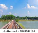 Wooden Bridge Walkway In The...