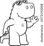 a cartoon illustration of a... | Shutterstock .eps vector #1073193008
