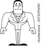 a cartoon businessperson... | Shutterstock .eps vector #1073195450