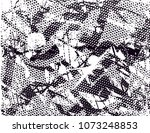 distressed background in black... | Shutterstock .eps vector #1073248853