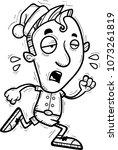 a cartoon illustration of a... | Shutterstock .eps vector #1073261819