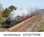 colton junction  england april... | Shutterstock . vector #1073272958