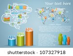 infographics master collection  ... | Shutterstock .eps vector #107327918
