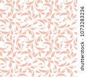 floral seamless pattern.... | Shutterstock .eps vector #1073283236