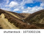 cairngorm mountains and route... | Shutterstock . vector #1073302136