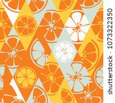 geometric seamless pattern set... | Shutterstock .eps vector #1073322350