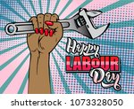 Happy Labour Day Lettering....