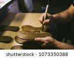 experienced footwear industry... | Shutterstock . vector #1073350388